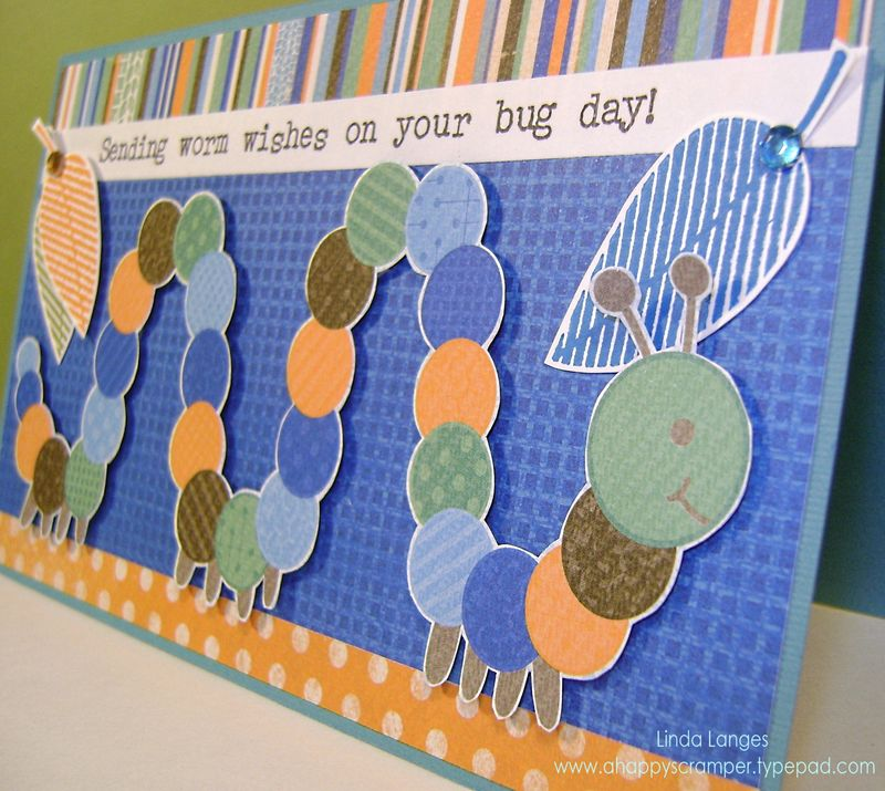 Worm wishes Card close up