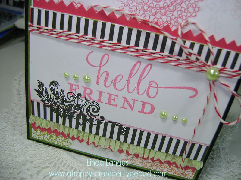Hello Friend close up 2