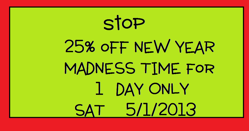 New year madness sale
